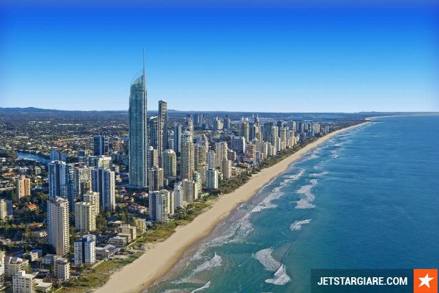 Vé máy bay đi Gold Coast