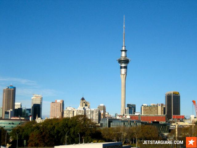 ve may bay di New Zealand Jetstar gia re