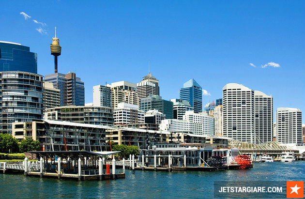 ve may bay gia re di sydney
