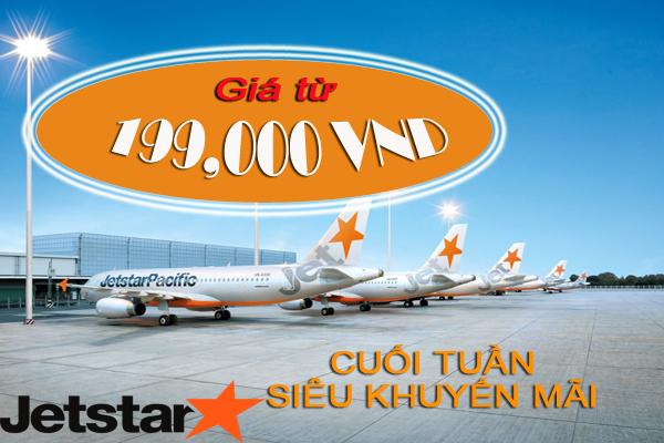 Jetstar mở bán vé 199,000 VND nhiều chặng bay hấp dẫn!