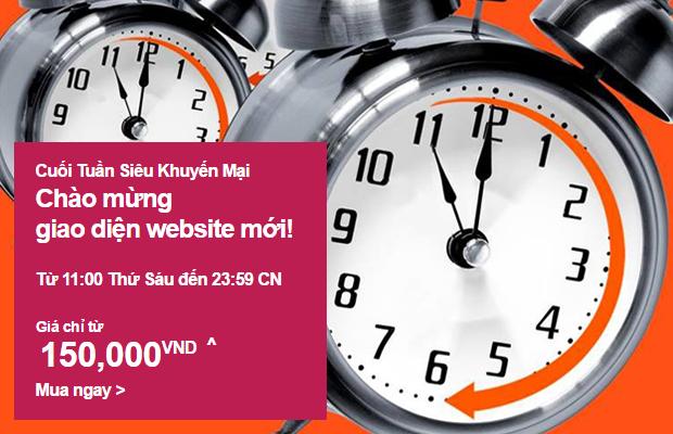 Siêu khuyến mãi Jetstar mừng giao diện website mới!