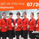 Bảng giá vé máy bay Jetstar tháng 7 năm 2016
