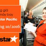 Bảng giá vé máy bay Jetstar tháng 10 năm 2016