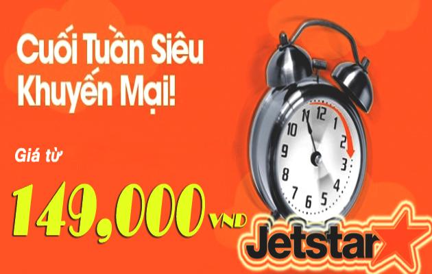 Jetstar tung vé 149,000 VND nhiều chặng bay hấp dẫn!