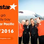 Bảng giá vé máy bay Jetstar tháng 12 năm 2016