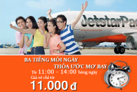 Muốn bay hằng ngày, săn ngay vé Jetstar chỉ từ 11,000 VNĐ