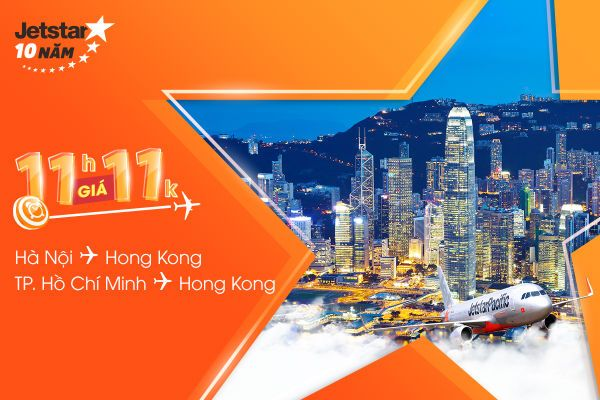 Săn vé Jetstar khám phá Hồng Kông, chỉ 11,000 VNĐ!