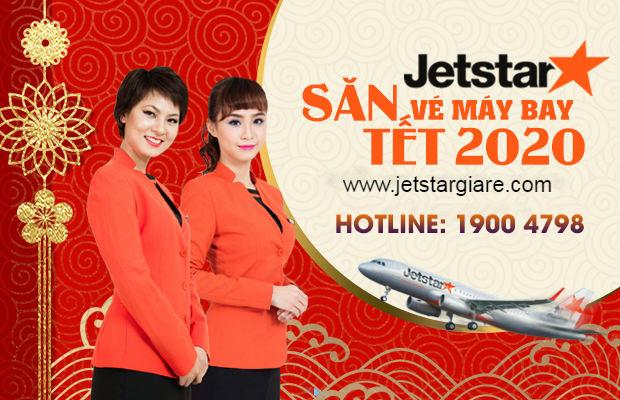 vé máy bay Tết 2020 Jetstar Pacific